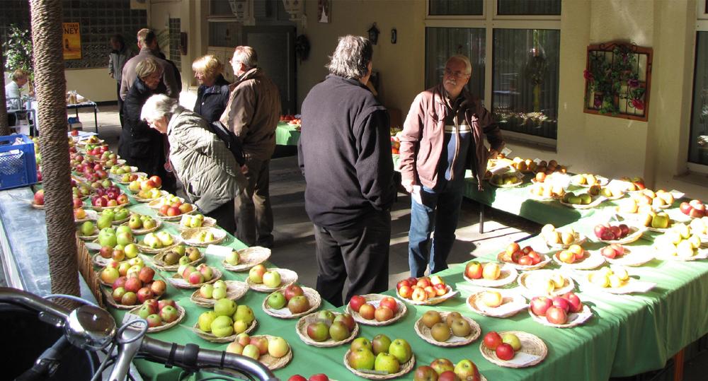 Die Apfelausstellung